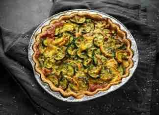 Rustico zucchine ricotta e mozzarella - ricettasprint.it