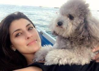 Elisa Isoardi cane