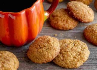 Biscotti alla zucca friabili
