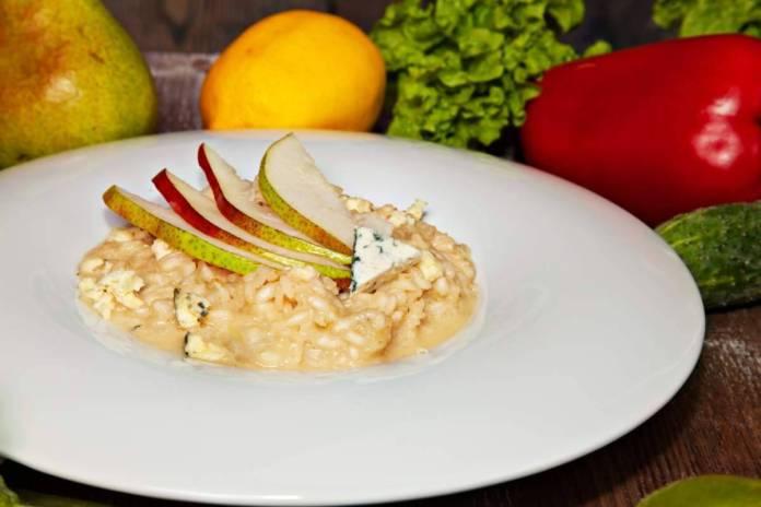 risotto pere e gorgonzola - ricettasprint.it