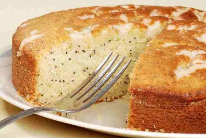 Torta al limone con farina di riso