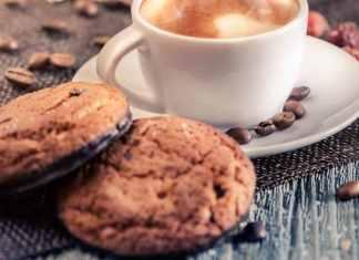 Biscotti al caffè e cacao