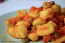 Gnocchi con sugo di verdure bimby 3