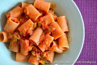 Pasta speck e zucchine bimby