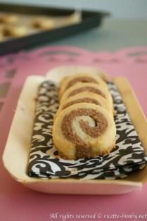 Biscotti a spirale alla nocciola bimby