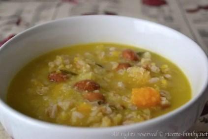 Zuppa alla contadina bimby 1