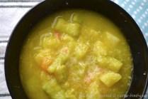 Zuppa di patate e zucchine bimby 2