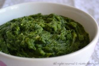 Purè di spinaci bimby 2