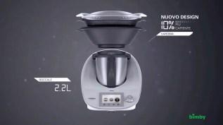 Nuovo Design, boccale da 2.2L e varoma più capiente