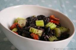 Insalata di fagioli e pomodori secchi bimby 1