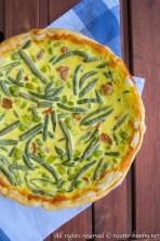 Torta salata fave e fagiolini bimby