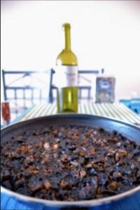 paella nera con salsa allioli ? rossetto e cioccolato - Come Si Cucina La Paella Surgelata