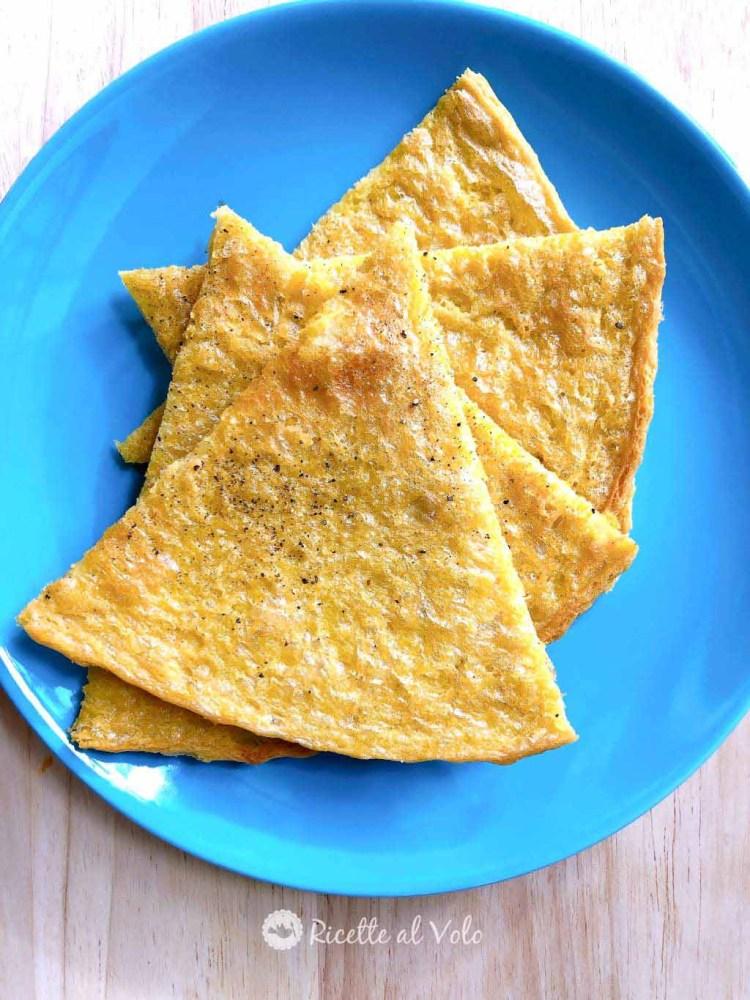 Ricetta della torta di ceci o farinata