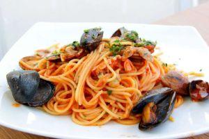 spaghetti ai frutti mare bimby