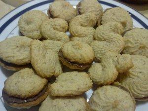Biscotti Montati alla Nocciola