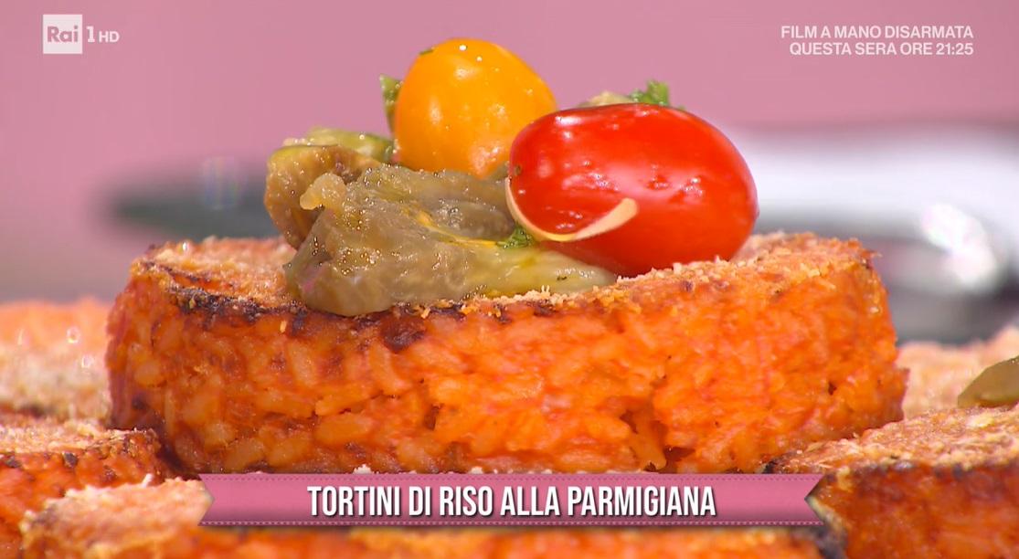 tortini di riso alla parmigiana di Sergio Barzetti