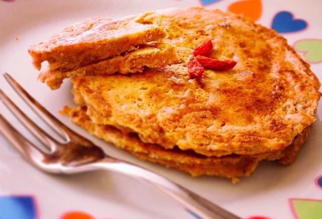 pancakes zucca vegan pumpkin