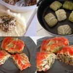 Involtini di verza, lenticchie e verdure  | Lentil cabbage rolls {vegan recipe}