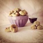 Bis di biscotti al farro, vino rosso e spezie | Spiced red wine spelt cookies