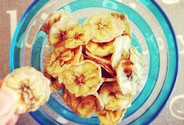 chips banana homemade