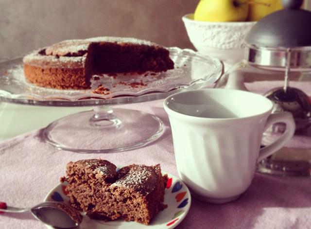 torta cacao vegan cocoa cake