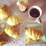 Brioches di farro sofficissime (con lievito madre secco) | Spelt croissant recipe