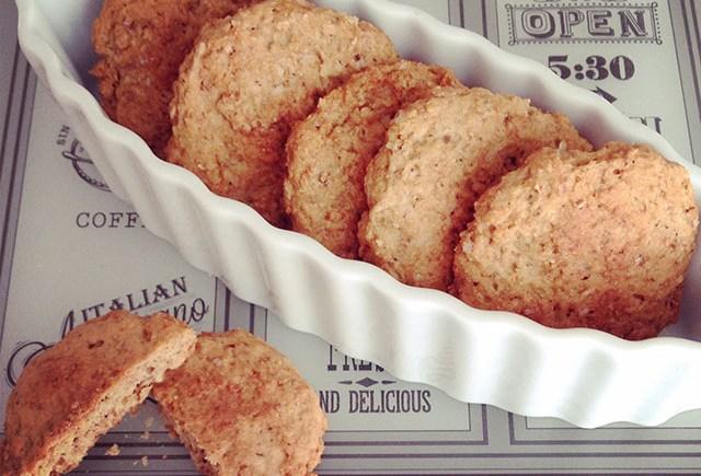 biscotti cookies tahin arancia sesame orange