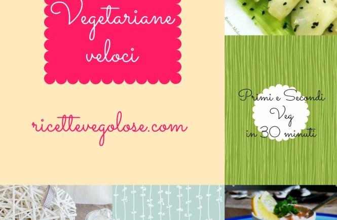 ricette vegetariane veloci ebook