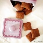 Biscotti di farro al cacao e sesamo | Chocolate sesame cookies