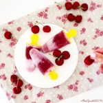 Stecco gelato al cocco e ciliegia | Coconut and cherry popsicles