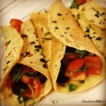 Crepes salate di ceci con verdure estive | Chickpea flour summer crepes