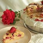 Crostata morbida di marmellata e fragole | Strawberry pie {vegan recipe}
