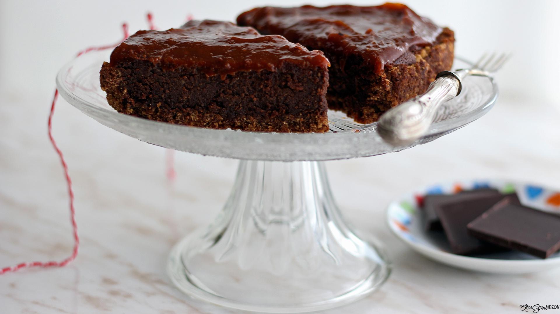 cheesecake-vegana-cioccolato