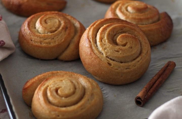 Girelle-alla-cannella-senzaburro-light-vegan-cinnamon-rolls