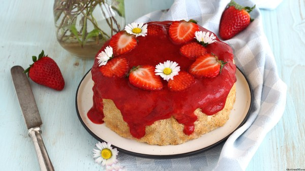 cheesecake-alle-fragole-light-senzaburro