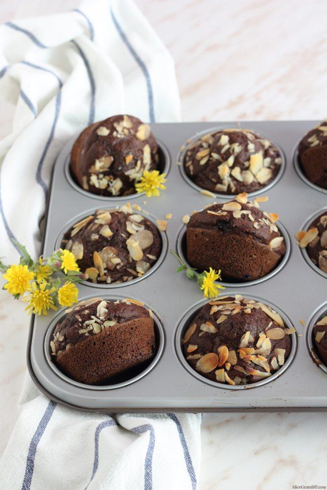 muffin-cioccolato-senza-uova-burro-vegan