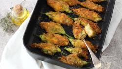 fiori-di-zucca-ripieni-al-forno-pastella-light-vegan