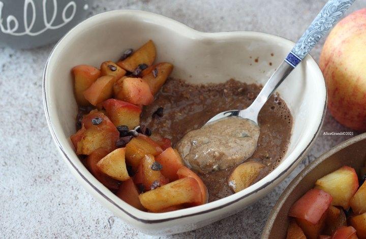 porridge-al-cioccolato-proteico-vegan-senzaglutine