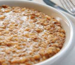 Risotto alla crema di lenticchie