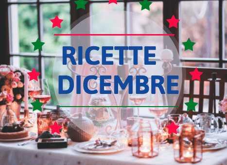 Ricette del mese: Dicembre