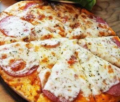 Pizza come da Spontini fatta in casa versione estiva