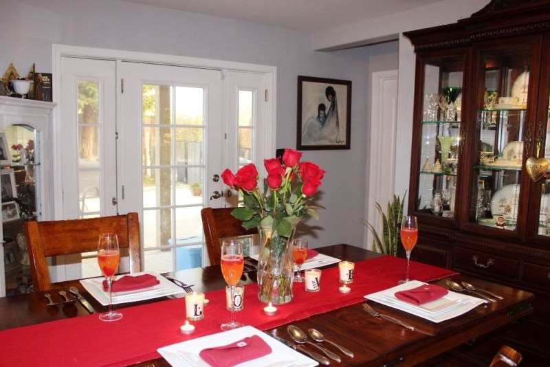 Valentines Day Tablescape 4