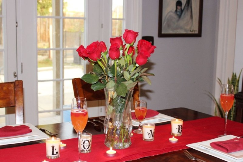 Valentines Day Tablescape 5