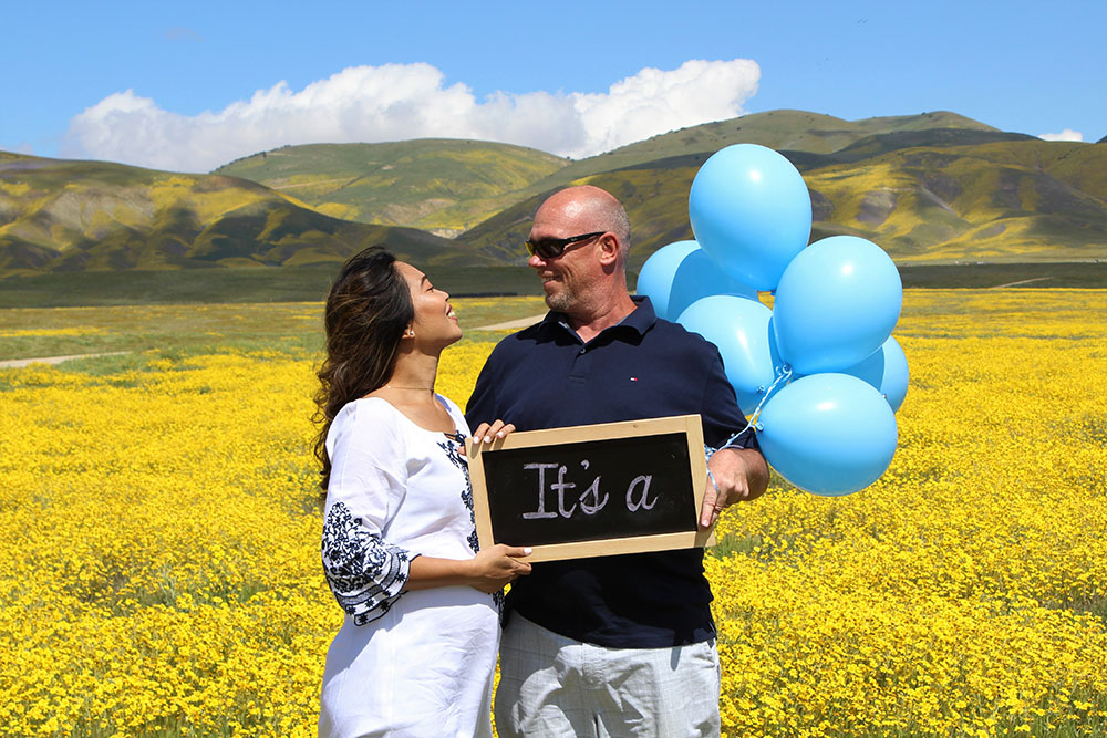 GENDER REVEAL IDEA 1