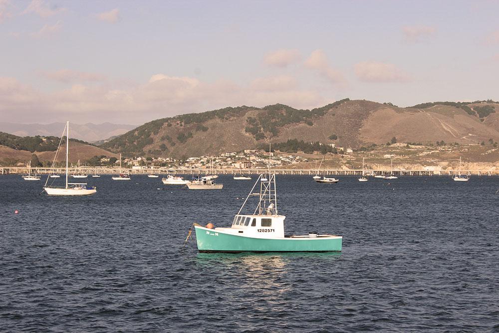 Port San Luis Avila Harbor