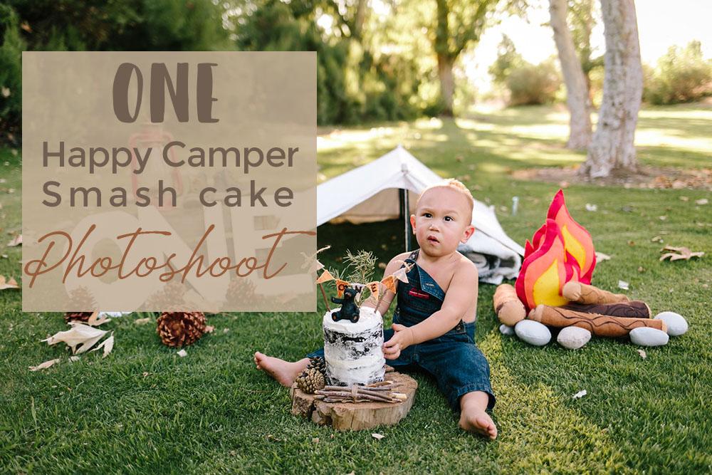 ONE HAPPY CAMPER PHOTOSHOOT