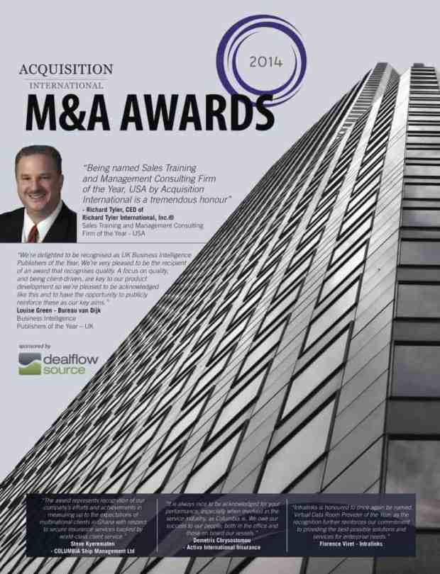 Richard Tyler M&A 2014 Supplement_cover