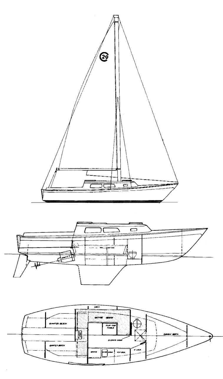 Cal 2-29 Line Drawing