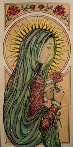 Image result for our lady of guadalupe modern art