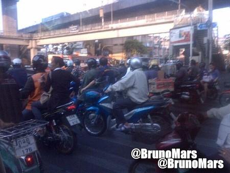 Bruno Mars in Bangkok